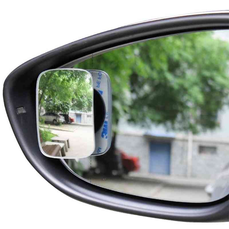 Car Rear View Rotating Adjustable Fixable Convex Blind Spot Mirror