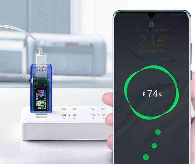 Usb Tester Dc Digital Voltmeter Voltage Current Ammeter Detector Power Bank Charger Indicator