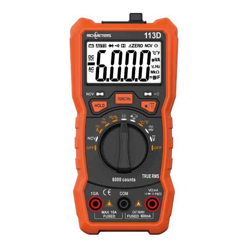 Auto Ranging Ac/dc Voltage Meter