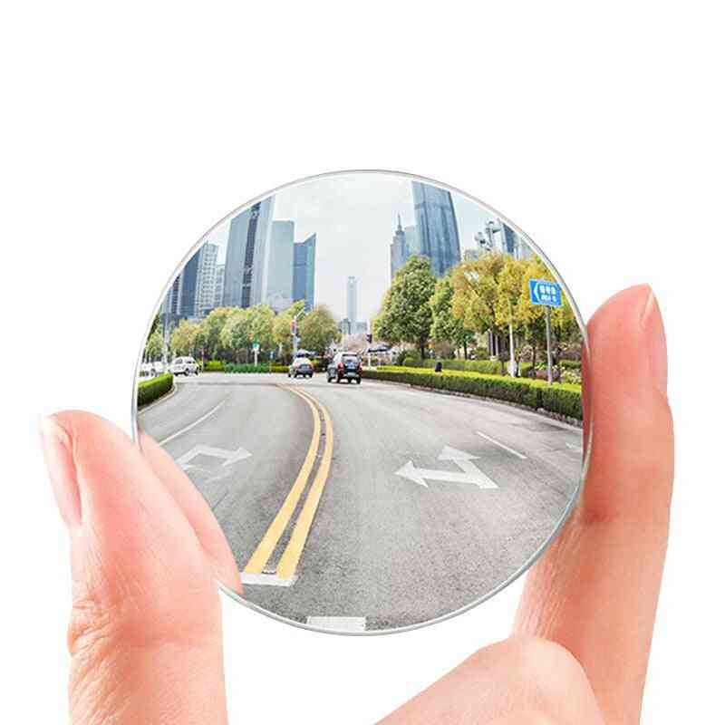 Blind Spot Auto Wide Angle Side Mirror For Car Hd Round Anti Fog Rear View