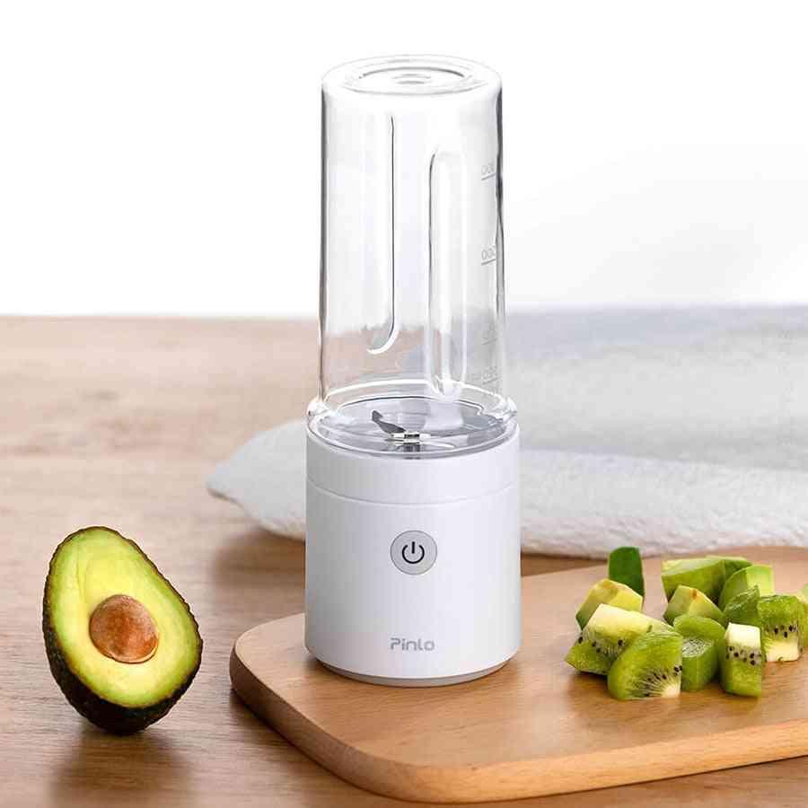 Portable Juicer Mixer Electric Food Processor Blender (pinlo Mini Blender)