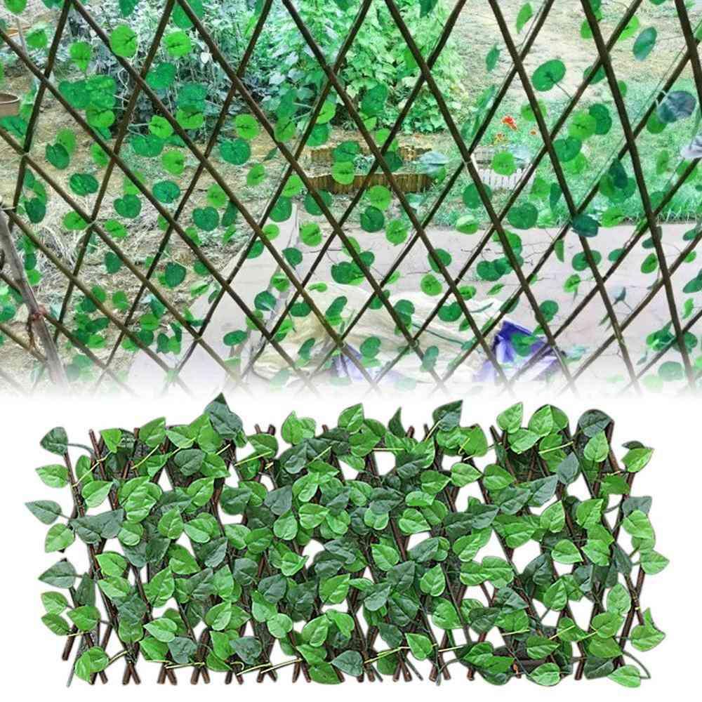 Artificial Plant Fence, Protected Screen For Garden/walls Decor