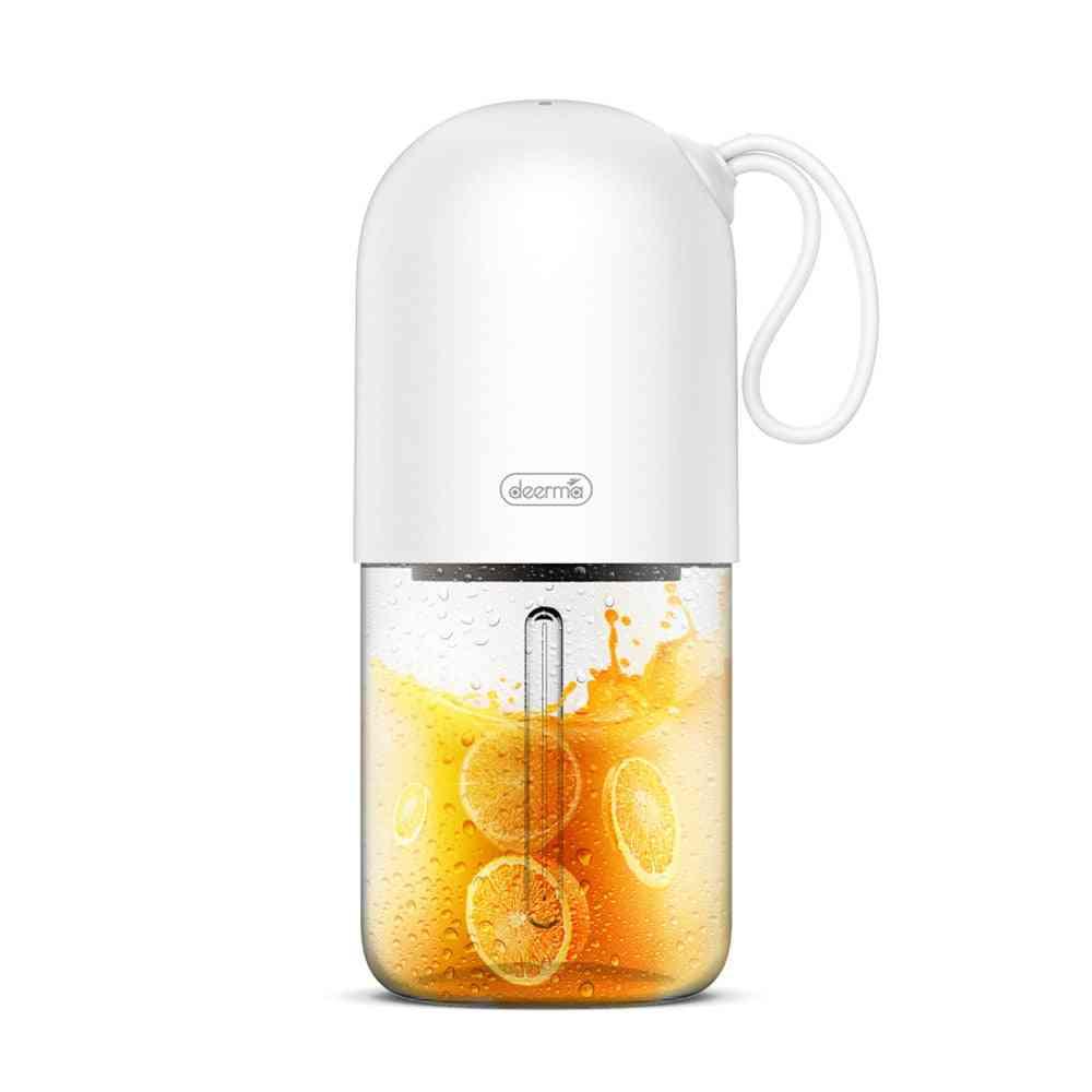 Portable Lemon,orange Juicer Blender - Mini Capsule Shape Electric Juicer