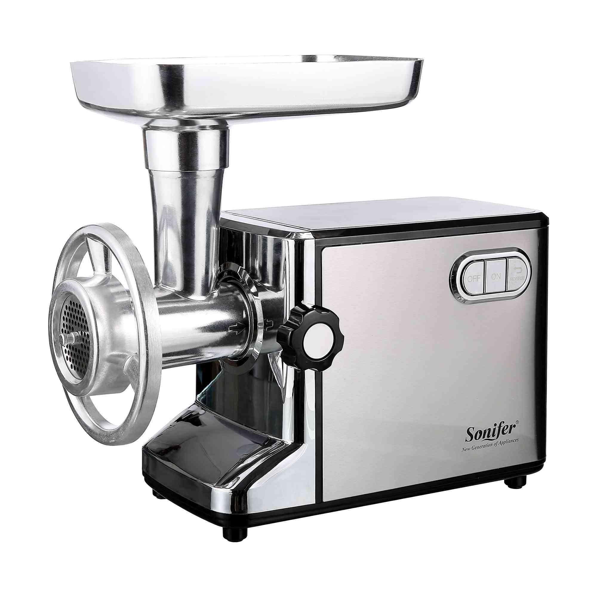 Electric Meat Grinders, Sausage Stuffer Food Processor Grinding Mincing Machine