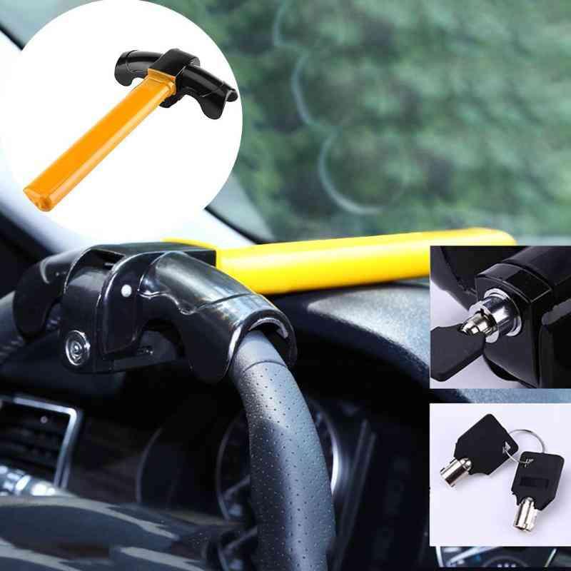 Universal Car Steering Wheel Anti-theft Auto Lock