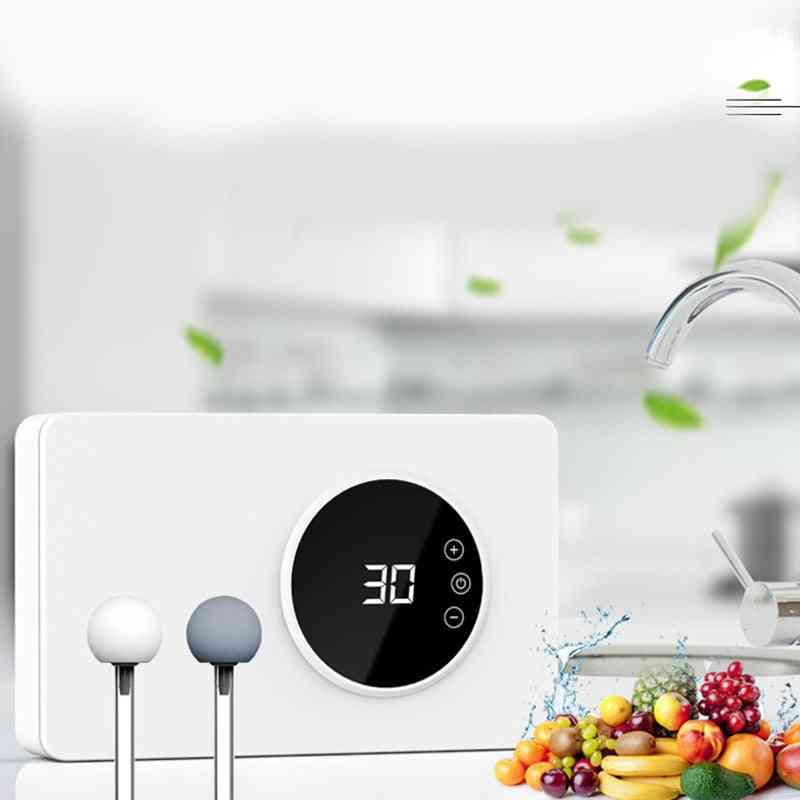 Ozone Disinfection Machine - Fruit, Vegetable-sterilizer Air Purifier-sterilizer With Timer