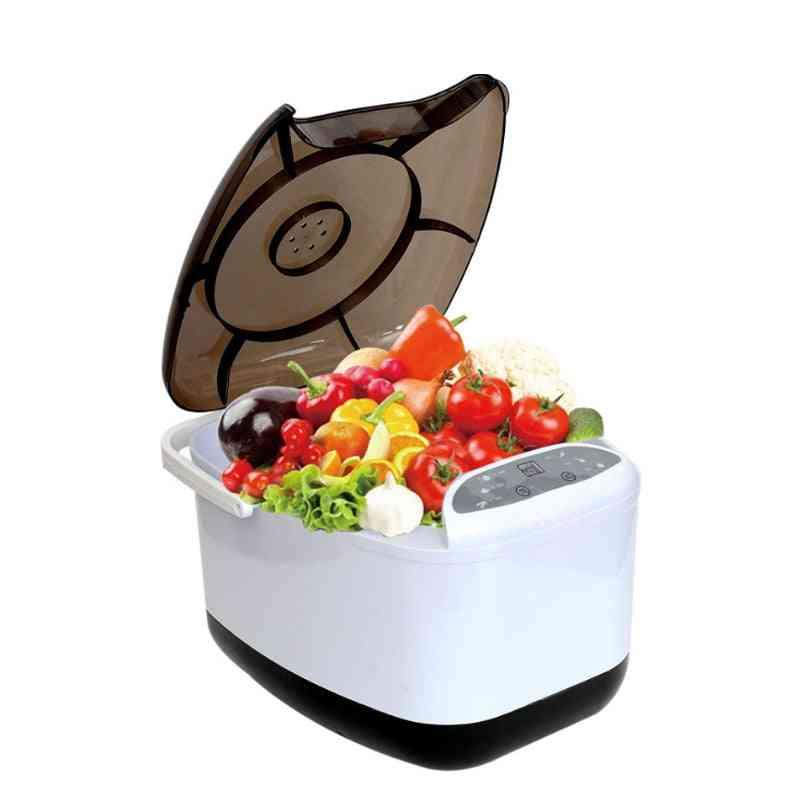 Fruit, Vegetable Washer Ozone Generator, Food Detoxification Tableware Cleaning Machine