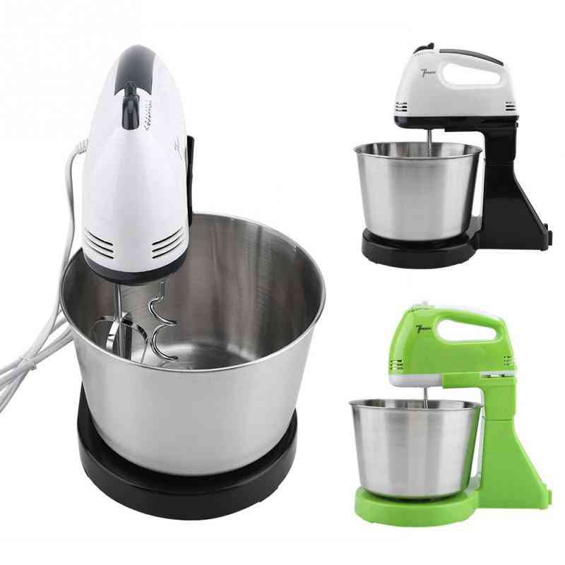 Electric Food Mixer, Handheld Egg Beater Blender Baking Whipping Cream Machine