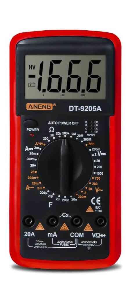 Digital Multimeter, Transistor Tester Electrical Ncv Test Meter