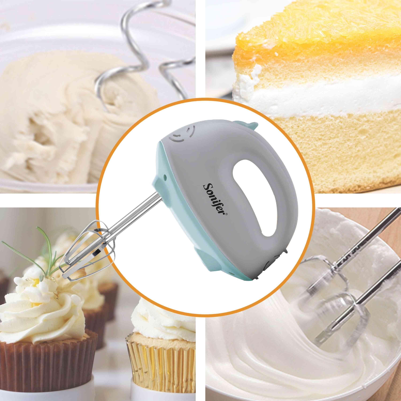 Electric Food Mixer, Hand Blender Dough Blender Egg Beater