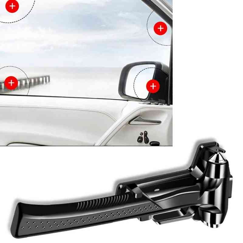 Car Safety Hammer, Emergency Escape Tool With Windows Breaker And Seatbelt Cutter