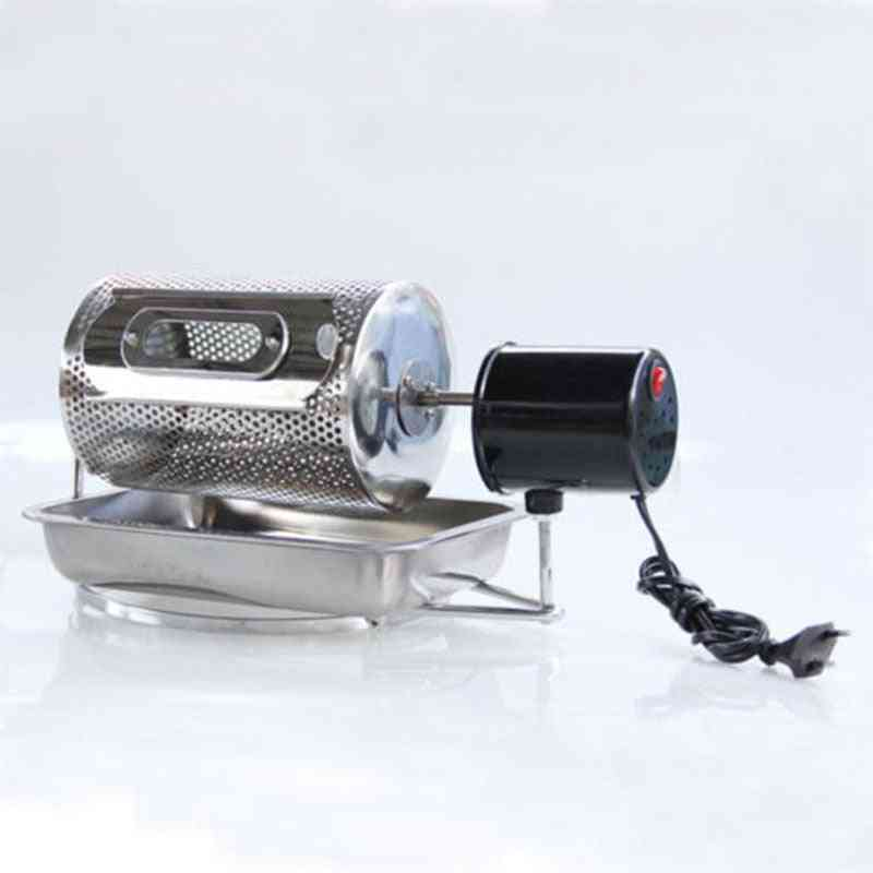 New Stainless Steel Drum Type Coffee Roaster Electric Machine