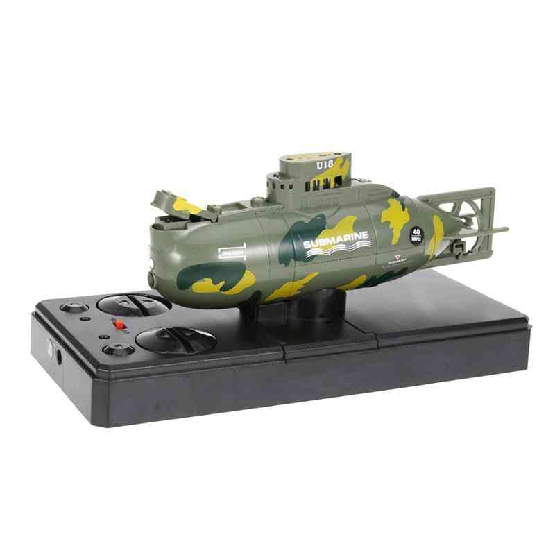 Mini Submarine Boat Toy Remote Control Boat Waterproof Diving For Kids