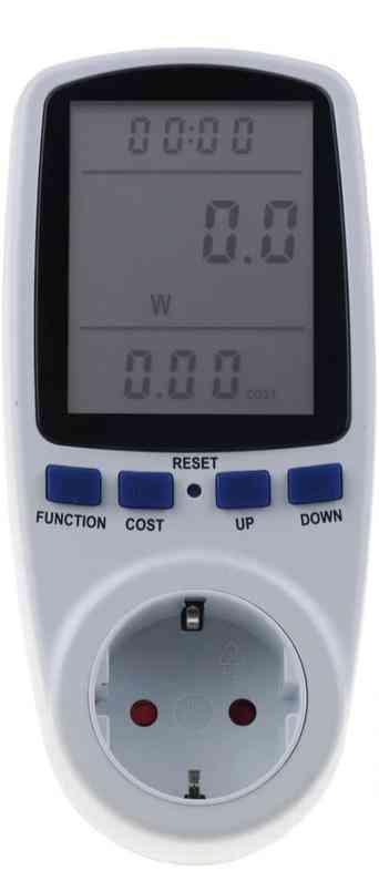 Ac Power Meters Digital Voltage Wattmeter Power Consumption Watt Energy Meter Electricity Analyzer