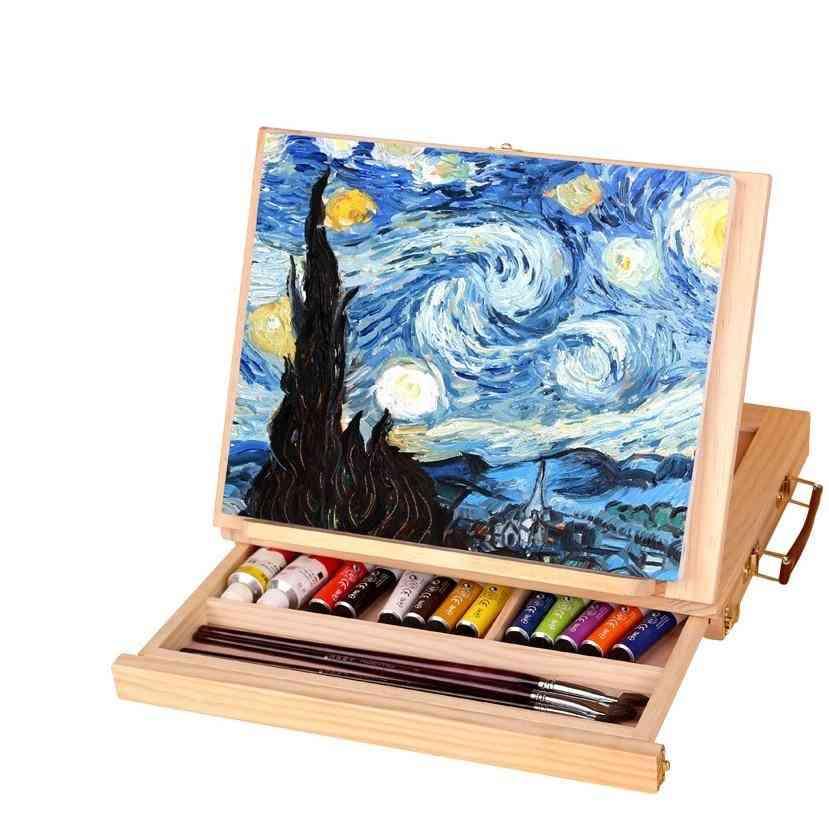 Multifunction Painting, Artist Desk For Miniature