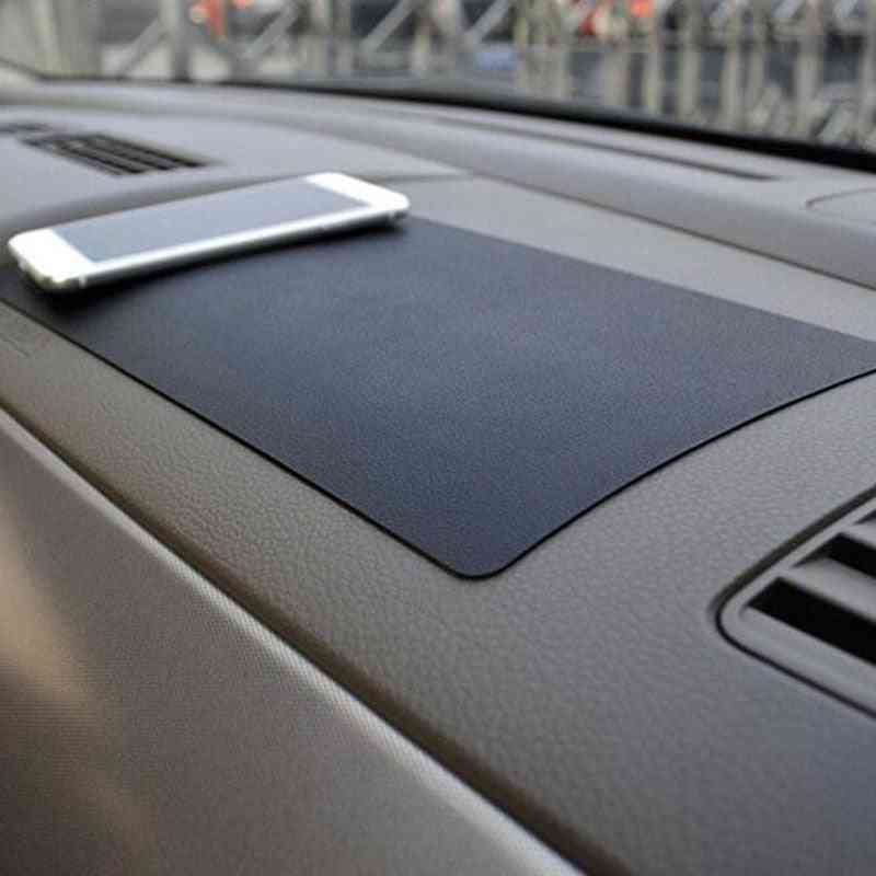 Car Dashboard Sticky Anti-slip Pvc Mat Non-slip Sticky Pad