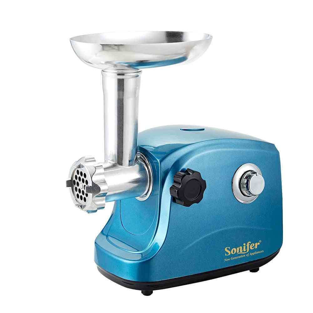 Stainless Steel Electric Meat Grinders Heavy Duty Household Mincer Sonifer