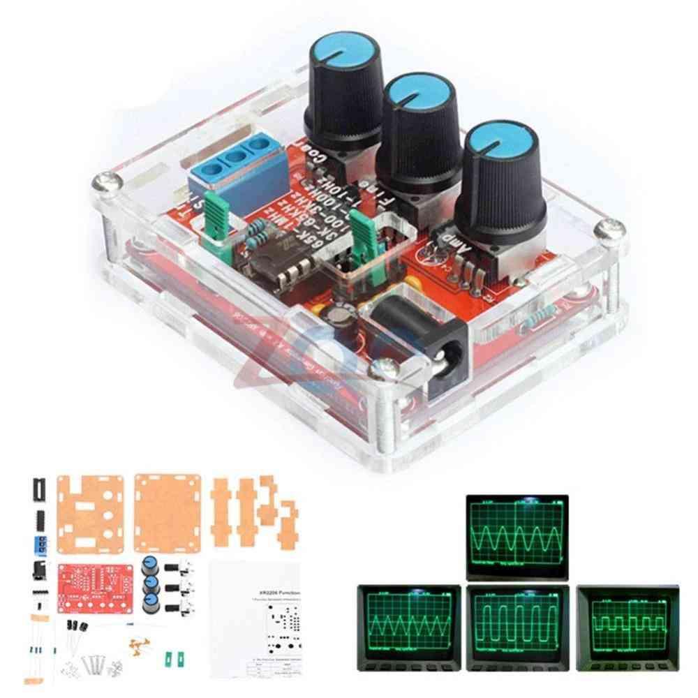 Function Signal Generator Diy Kit Sine/triangle/square Output Signal Generator Adjustable