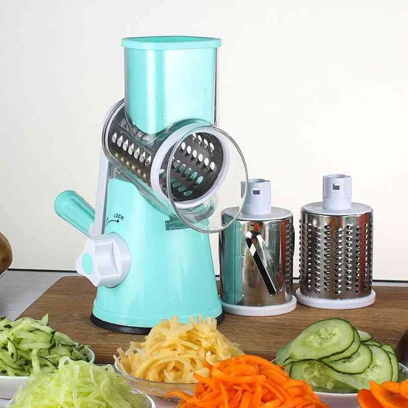 Vegetable Cutter Round Mandoline/potato Carrot/grater Slicer Kitchen Tool