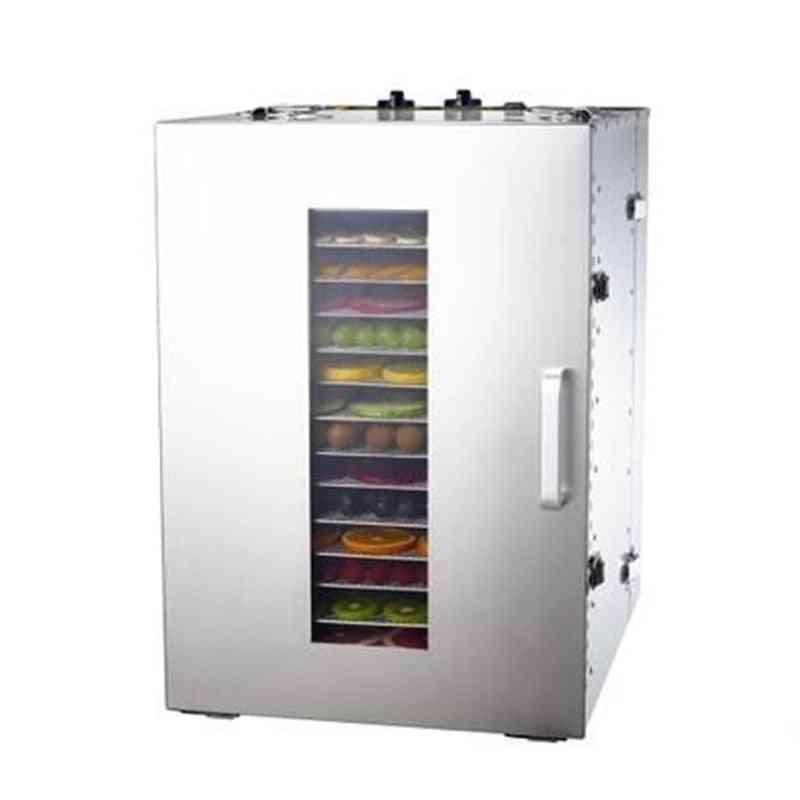 16 Tray Fruit Dehydrator Machine - Fruit, Vegetable, Meat, Herbal Tea Fish Food Dryer