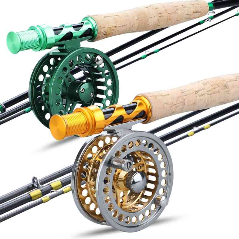 Fly Fishing Rod And Fly Reel Combo Set