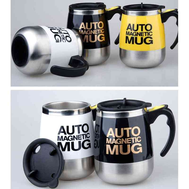 Automatic Self Stirring Magnetic Mug- Smart Mixer Thermal Cup
