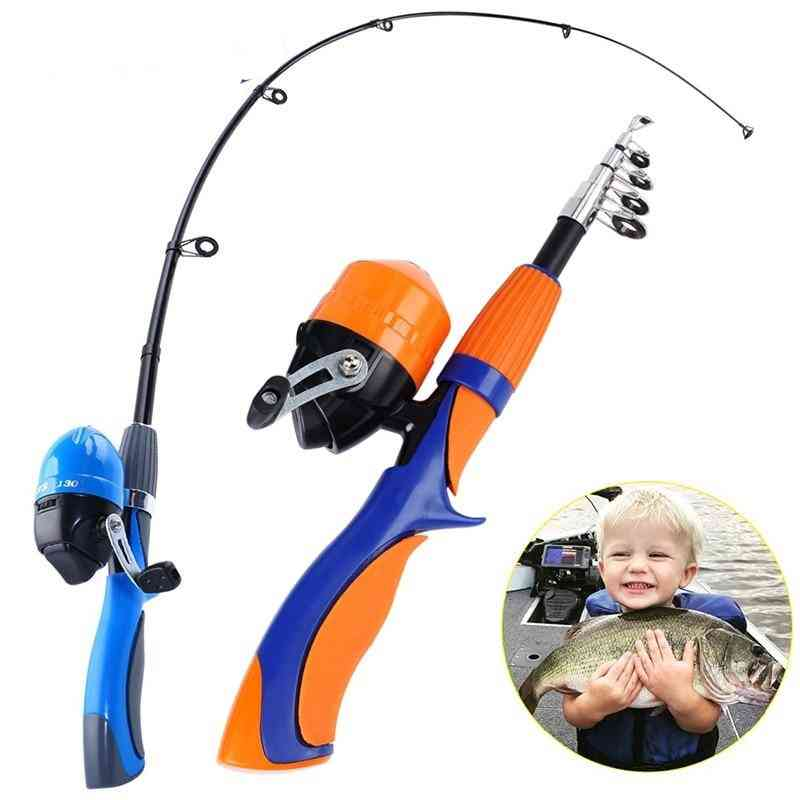 Ice Fishing Rod And Closed Face Spinning Reel Combo Tackle Set