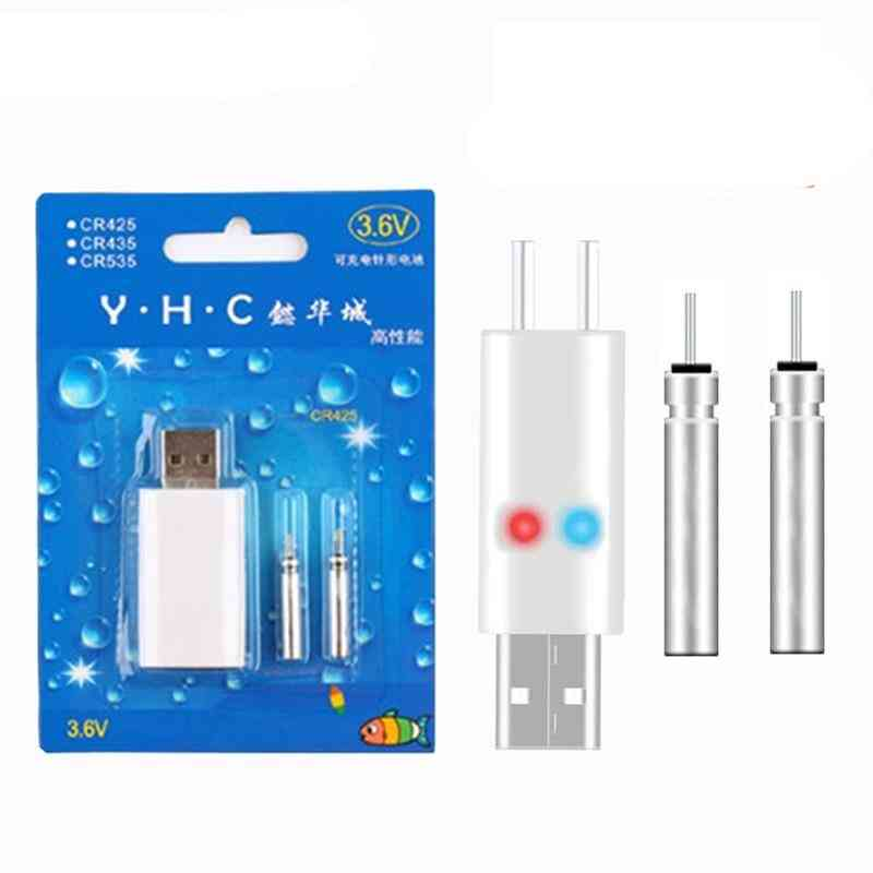 Usb Charge Fishing Float Rechargeable Batteries