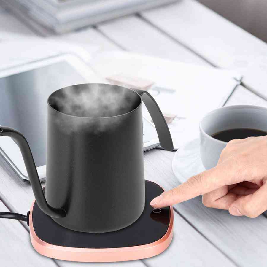 Electric Powered Cup Warmer Heater Pad Plate Touch Coffee / Tea