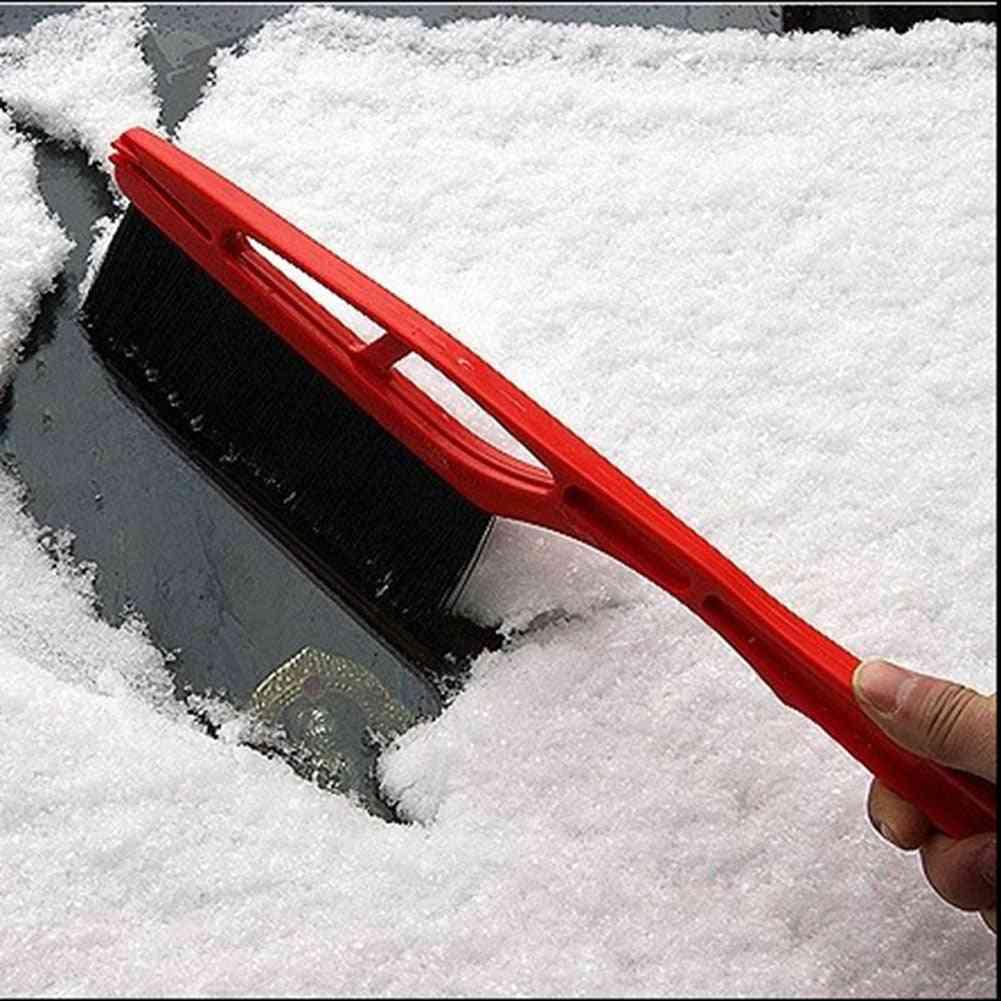 2-in-1 Car Ice Scraper Snow Remover Shovel Brush
