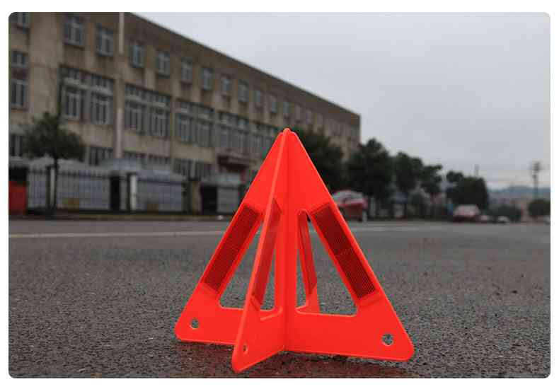 Car Warning Triangles, Emergency Traffic Signaling Reflective Safety Stop Sign