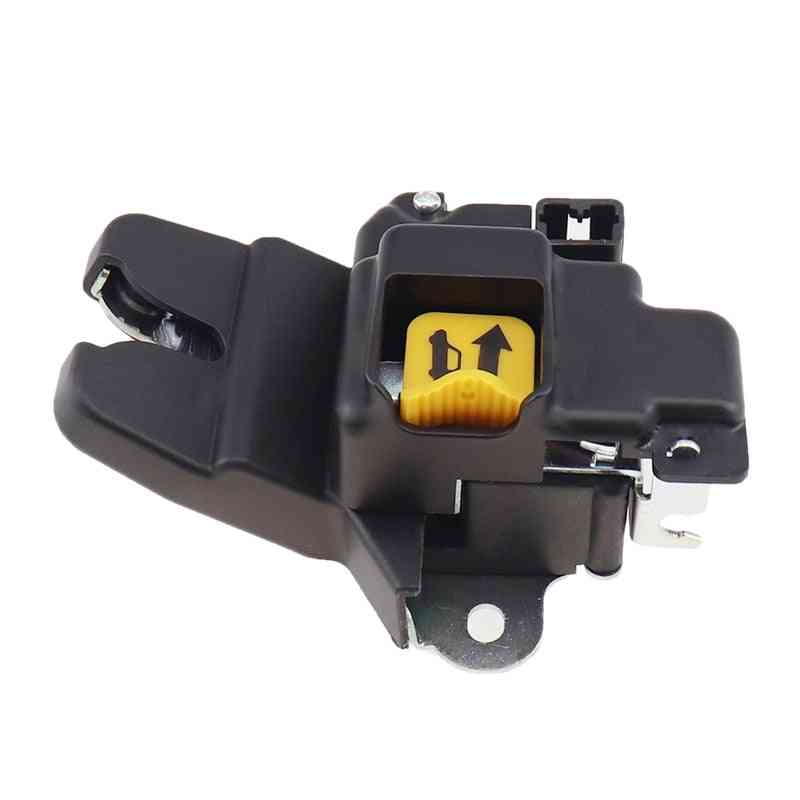 Car Tailgate Door Lock Actuator, Rear Tailgate (black)