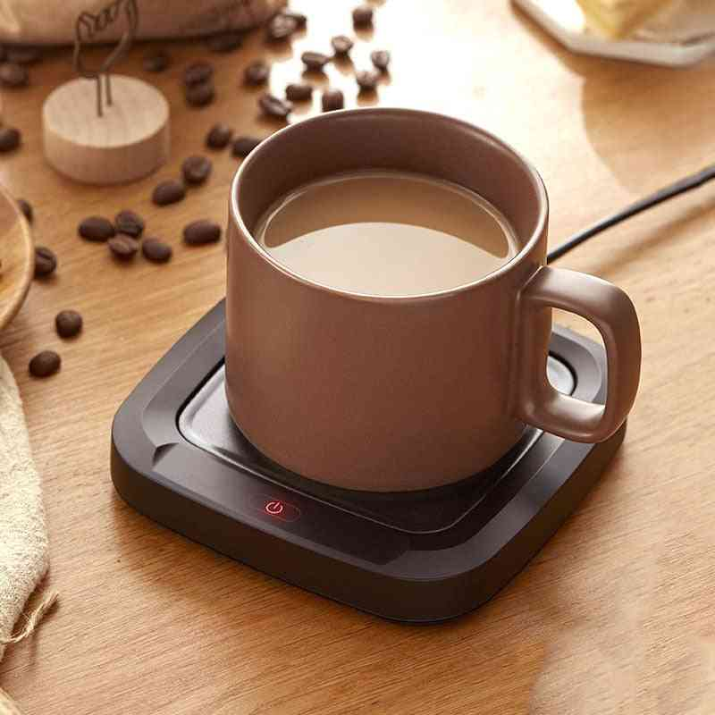 Coffee Cup Warmer Heating Pad For Office, Home - Electric Warmer Plate