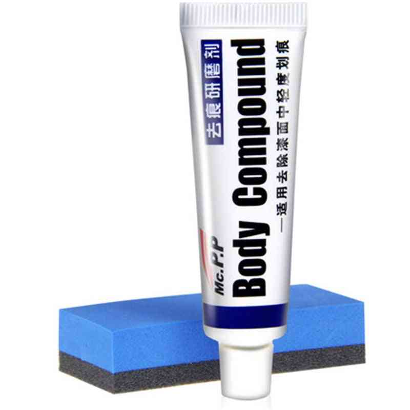 Car Body Compound Wax Paint Paste Set, Scratch Care, Auto Polishing, Grinding & Styling Fix It Pro Repair Kit