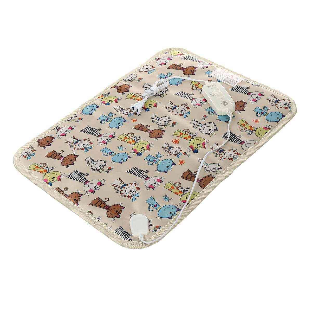 Electric Pet Heating Pad-warm Blanket Seat For Cats/dogs