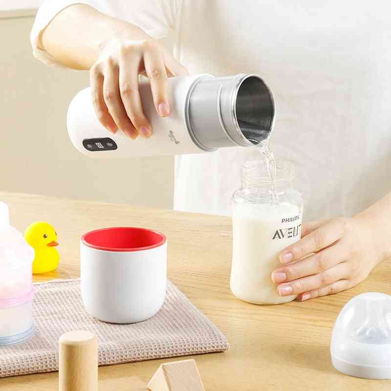 Portable Electric Water Cup Touch Control Drinkware Thermos, Smart Water Kettle