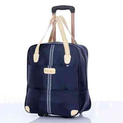 Trolley Luggage Rolling Suitcase, Travel Hand Tie Rod Suit Rolling Case
