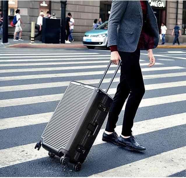 Aluminum Frame Hardside Suitcase On Wheel Travel Bags