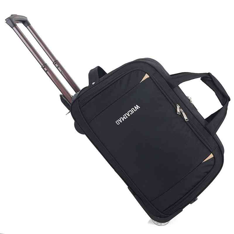 Trolley Wheeled Carrying Bag, Rolling Suitcase Bags