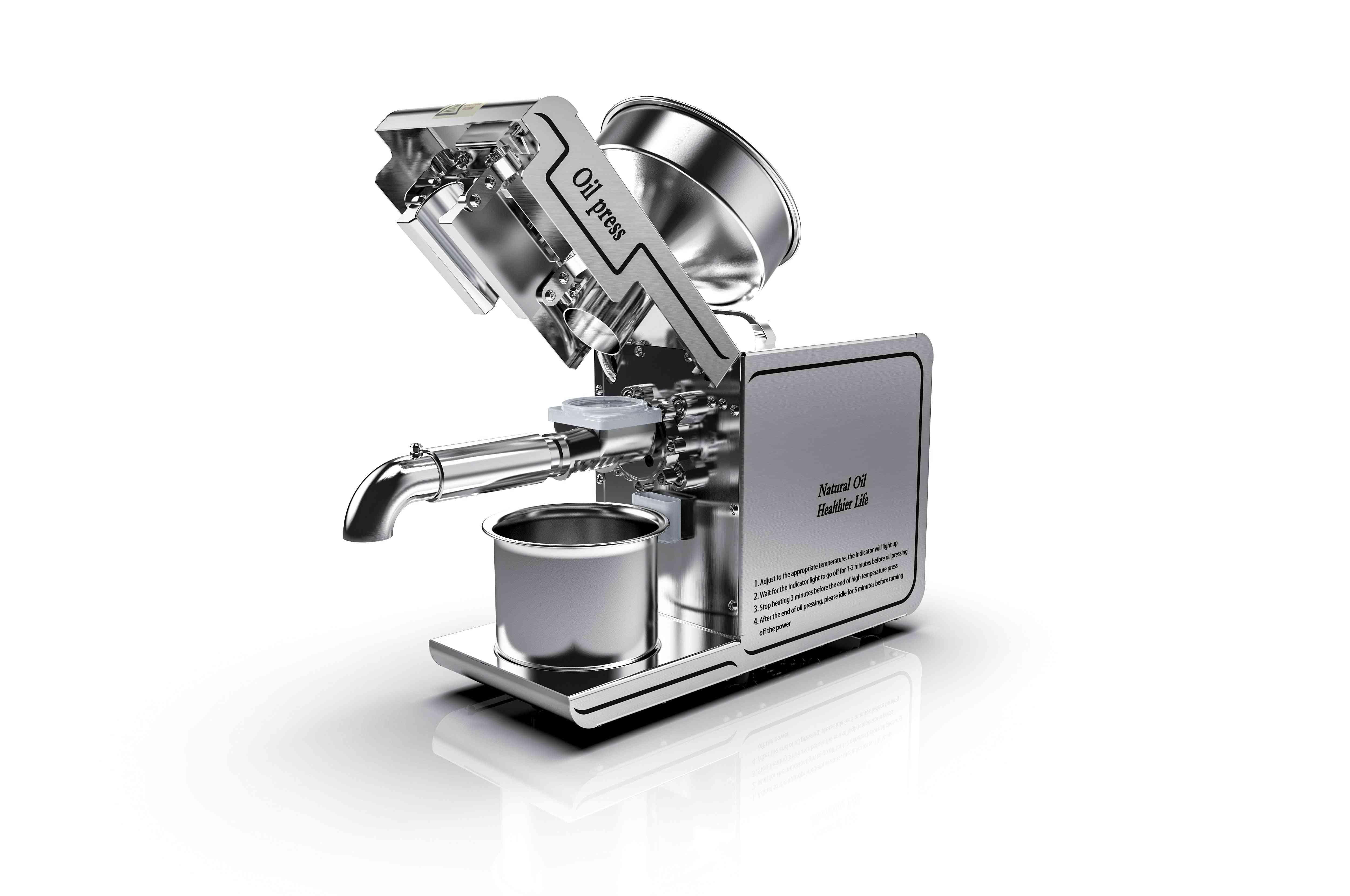 Hot And Cold Oil Press Machine