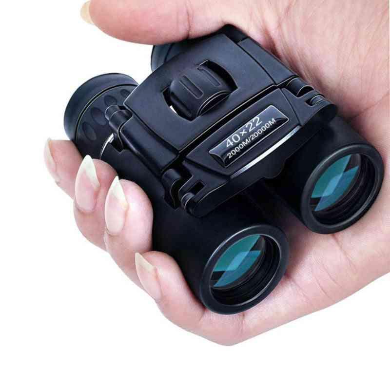 Hd Powerful Binoculars 2000m Long Range Folding Mini Telescope