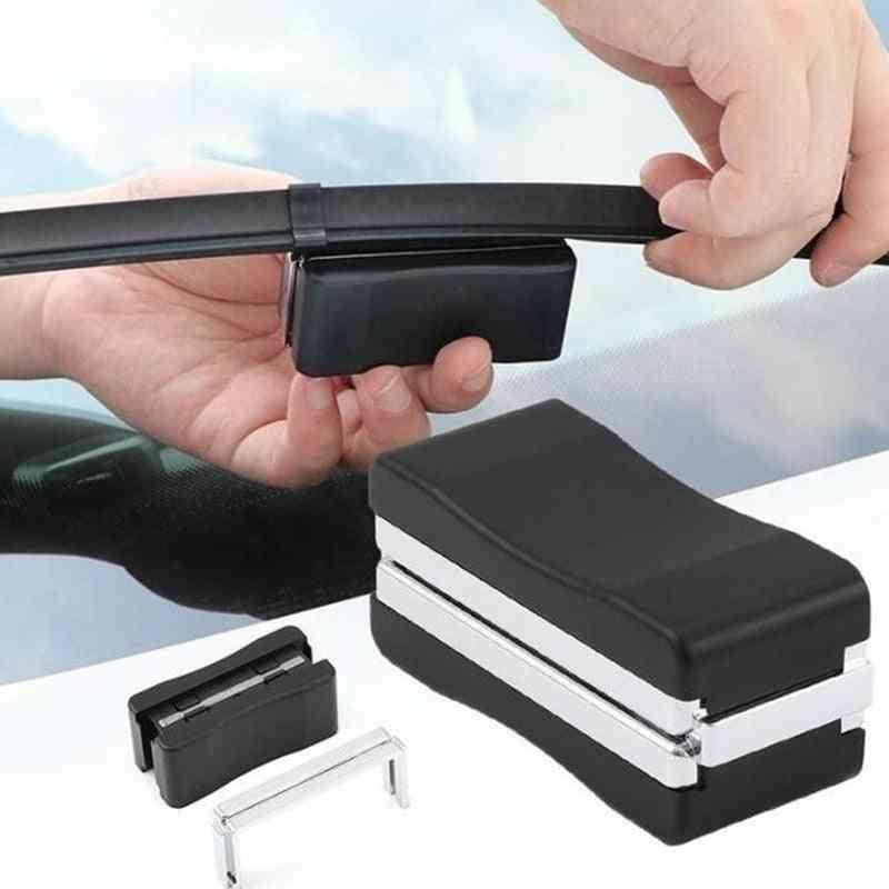 Auto Maintenance Cleaner Device Vehicle Windshield Wiper Restorer Blade