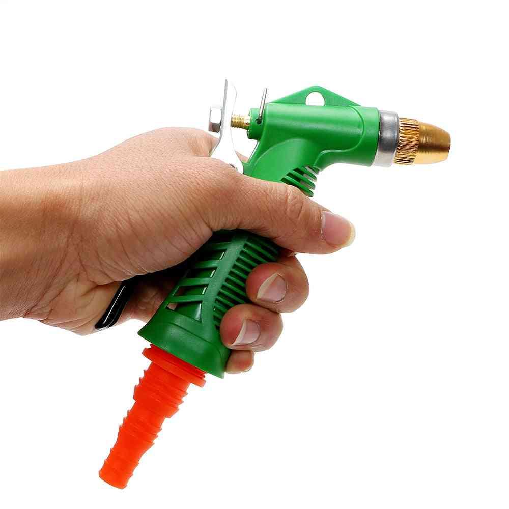 Durable Adjustable Pressure Water Gun, Car Styling Copper Washer Guns