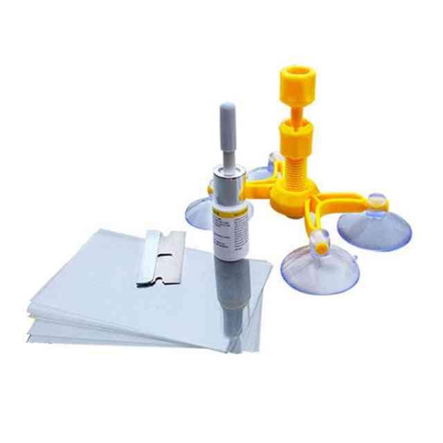 Windshield Repair Kits Tools, Glass Scratch Windscreen Crack Restore