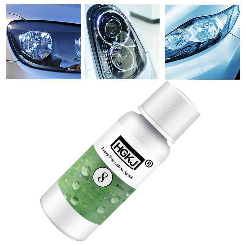 Glass Cleaner Scratch Remover, Repair Liquid Polishing Headlight Retreading Agent