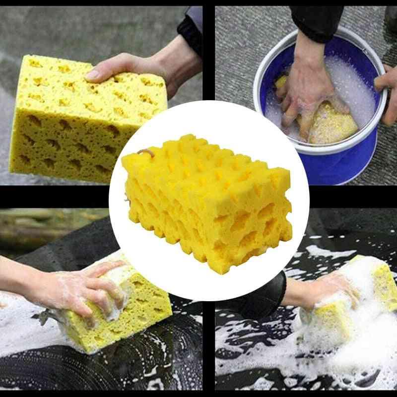 Washing Cleaning Sponge Block Honeycomb