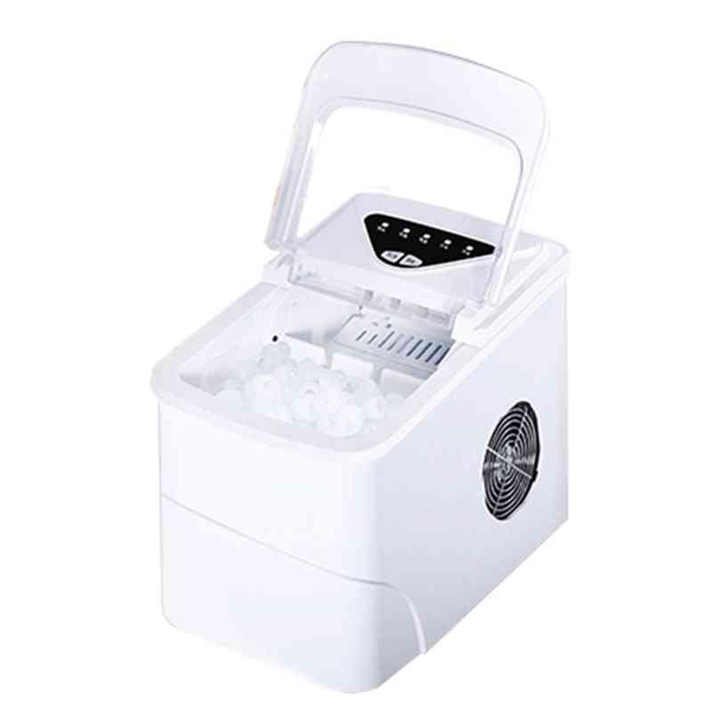 Portable Automatic Electric Ice Maker, Mini Square Shape Machine