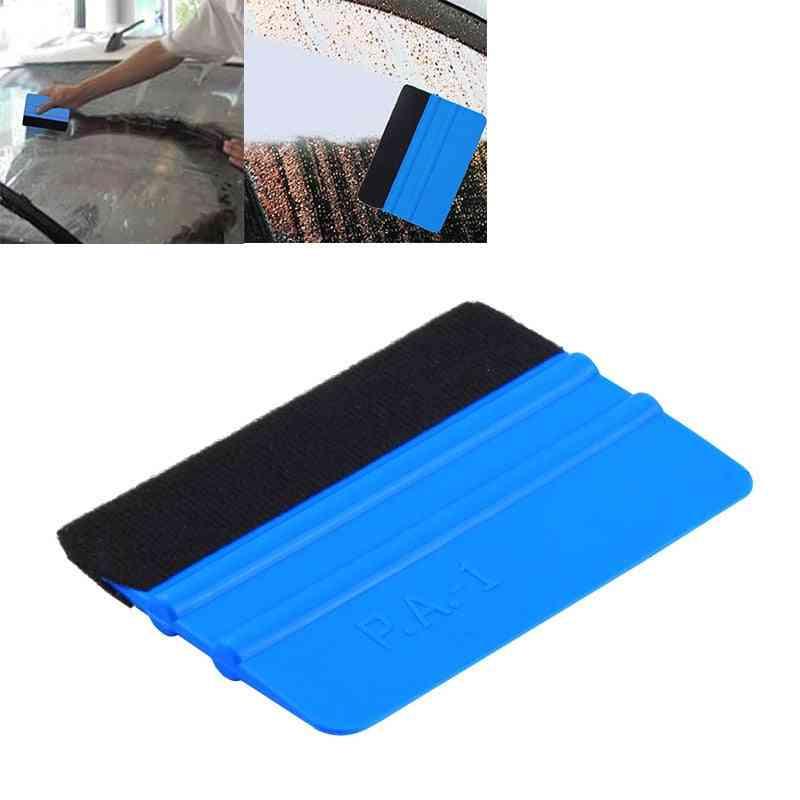 Portable Felt Edge Squeegee Car Vinyl Wrap Application Tool