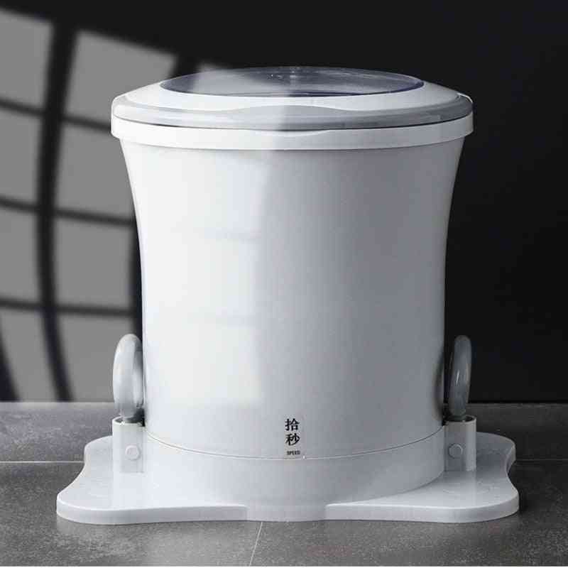 Home No Need Electricity Clothes Drying Barrel, Portable Exercise Fitness Laundry Machine