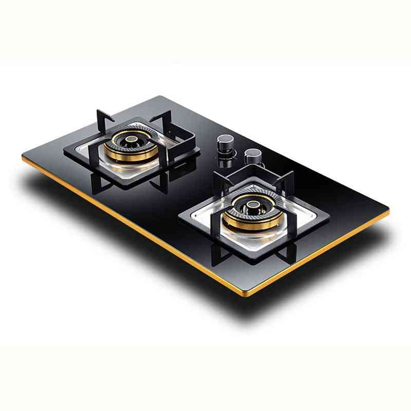 Household Embedded Gas Stove, Kitchen Cooktop Large Firepower Cooker